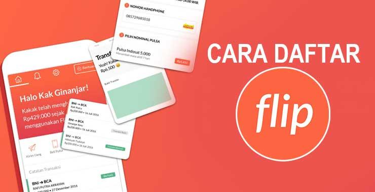 Cara Daftar Akun Aplikasi Flip Terbaru