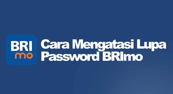 Cara Mengatasi Lupa Password BRImo